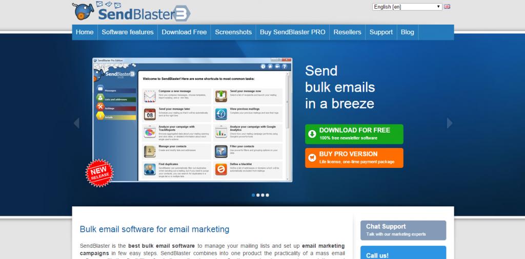 Send Blaster 3
