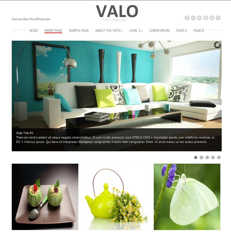 Valo Free WordPress Theme
