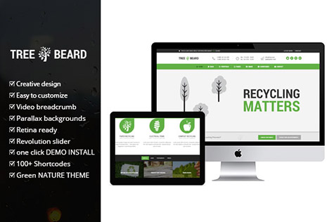 Eco WordPress Theme