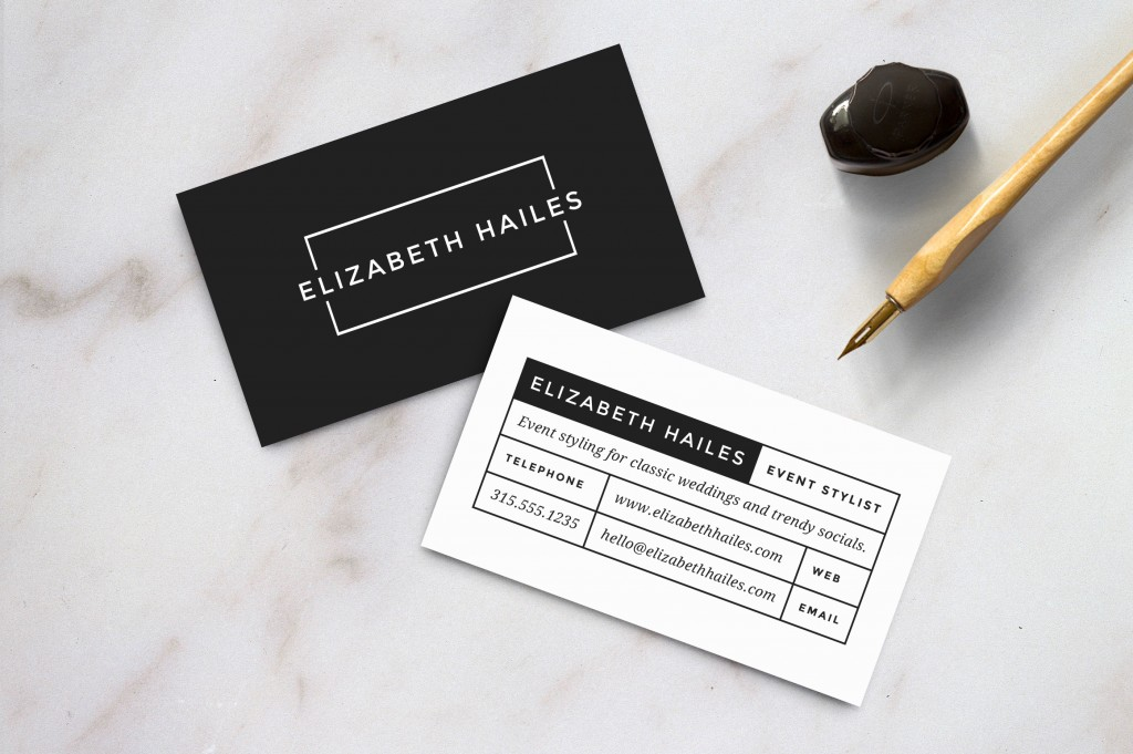 Premium Modern Card Templates PremiumCoding - 2 sided business card template