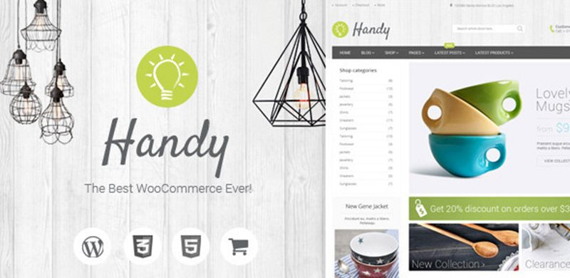 WORDPRESS THEME OF THE WEEK: Handy