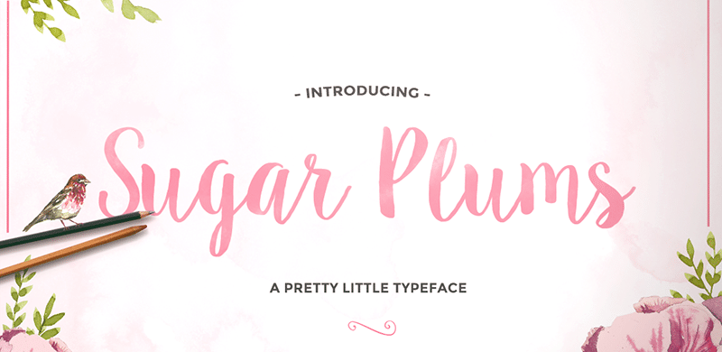 TUESDAY FONTS: Adelicia, Sugar Plums and Catfish