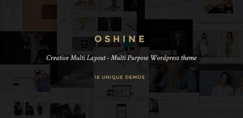 WORDPRESS THEME OF THE WEEK: Oshine