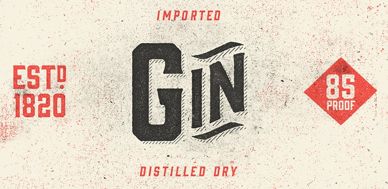 TUESDAY FONTS: HUDSON NY, Malarkey and Gin