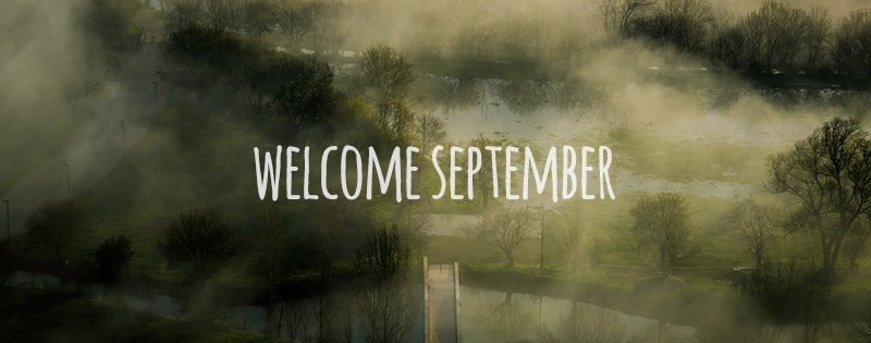 Freebie: Welcome September facebook timeline