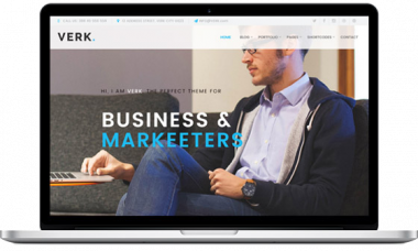 Verk WordPress Theme