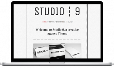 Studio 9 WordPress Theme