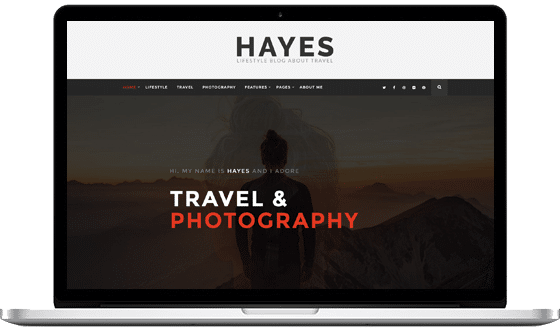 Hayes – A Traveler Blog Theme