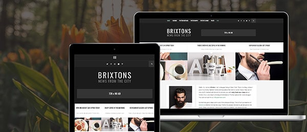 Brixton WordPress Blog Theme