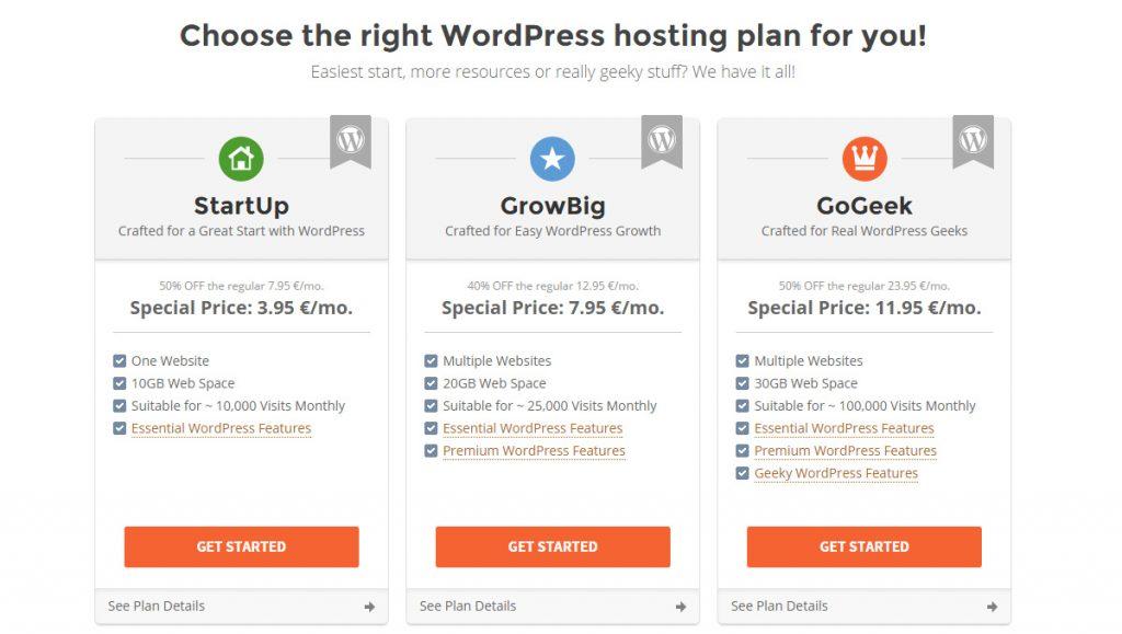 WordPress Hosting Price