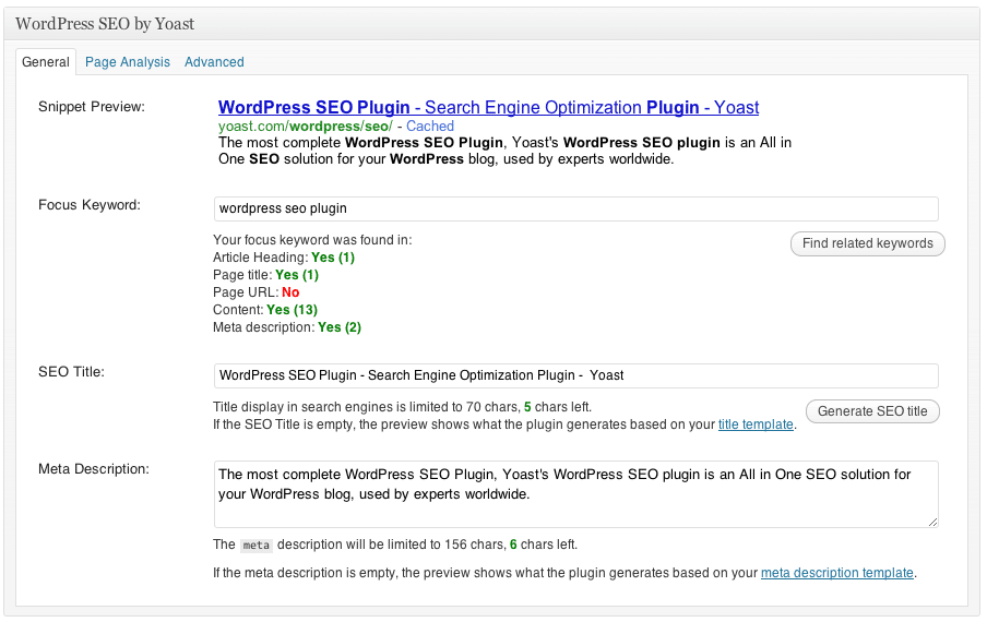 wordpress-seo-plugin yoast.com