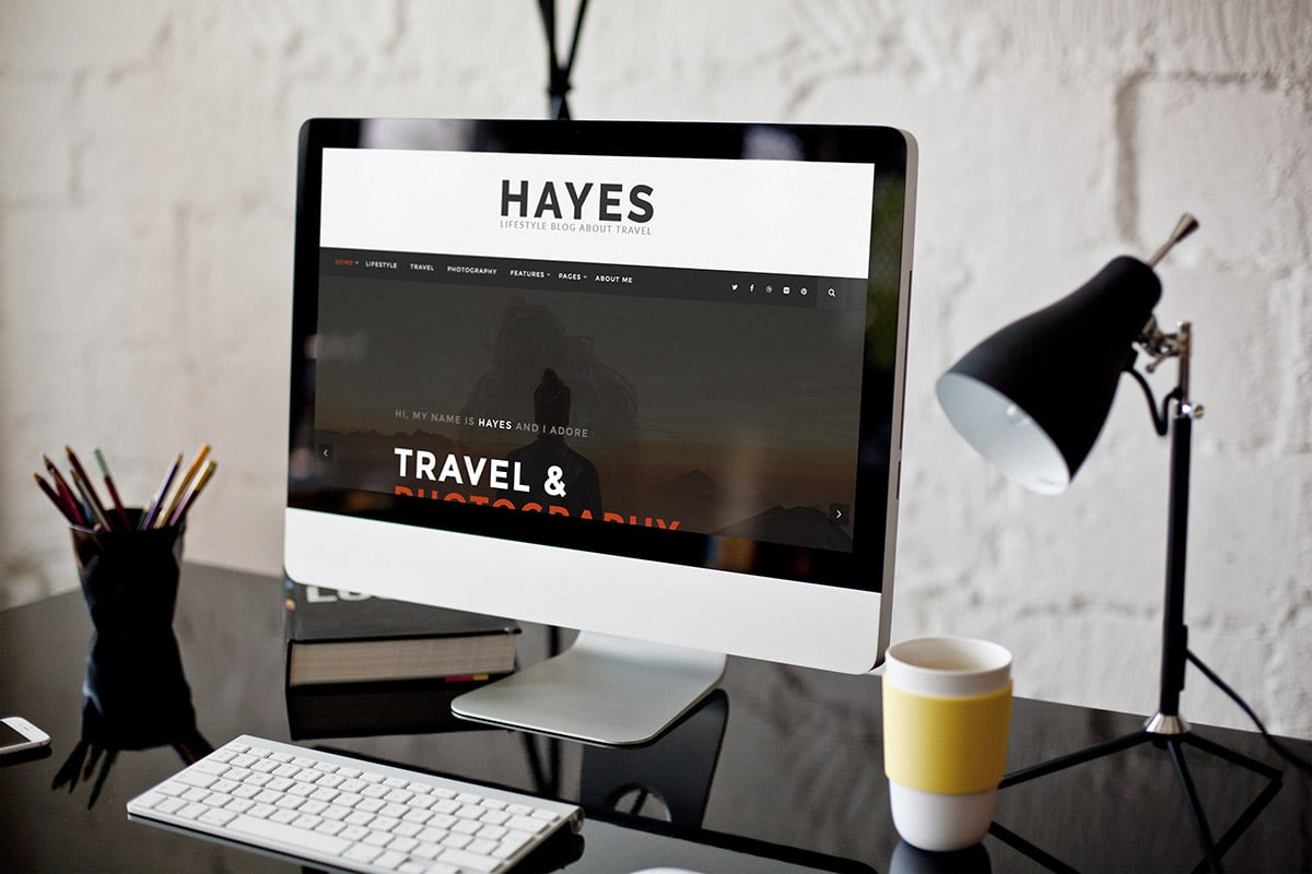 Hayes - WordPress Blog Theme