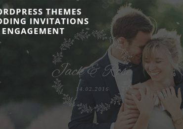 Collection of the Best Responsive Wedding WordPress Themes