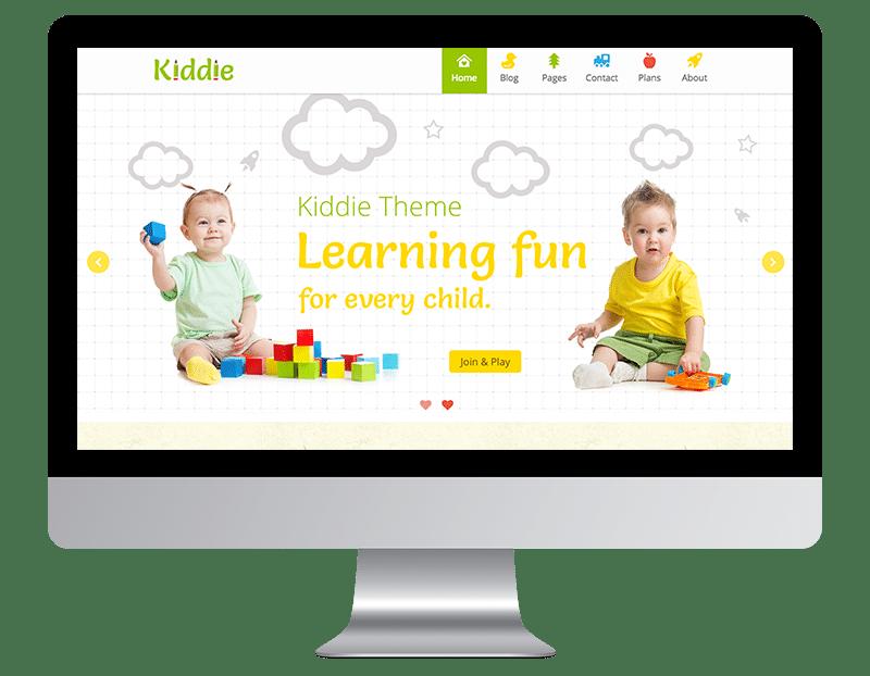 Kiddie is a playful WordPress Theme.