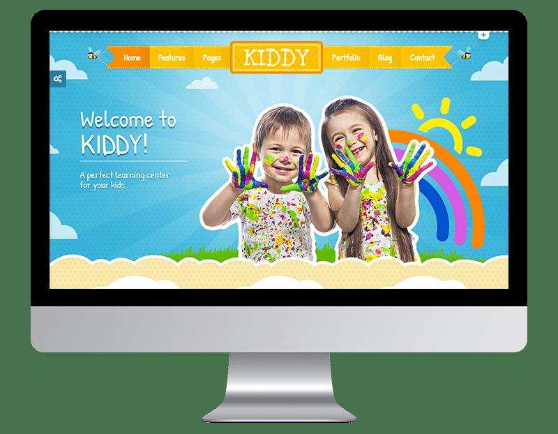 Kiddy is a great Kindergarten WordPress Theme.