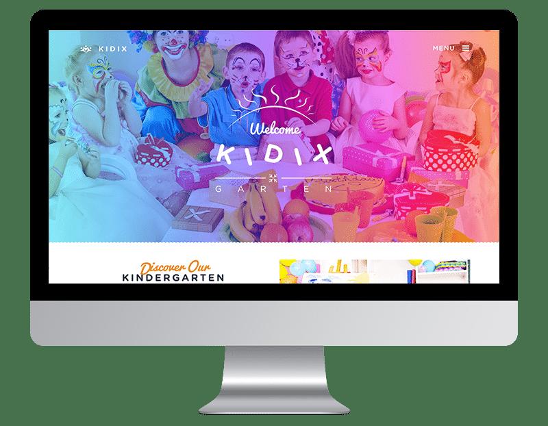 Kidix is a cute Kindergarten theme.