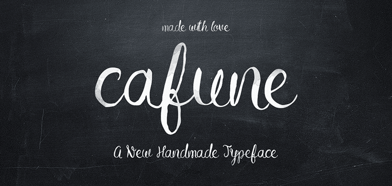 TUESDAY FONTS: Holyhand, Cafune and Riotic
