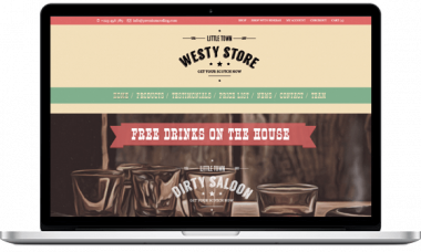 Westy – Wild West WordPress Theme
