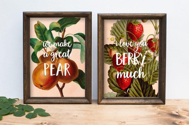 Garden Grown is an amazing font duo.
