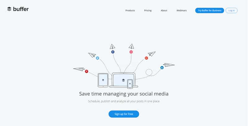 Buffer simplifies Social Media Managemen