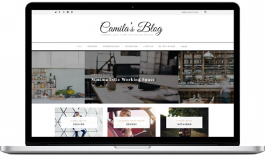 Camila – WordPress Blog Theme