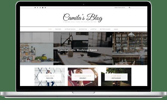 Camila – WordPress Blog Theme