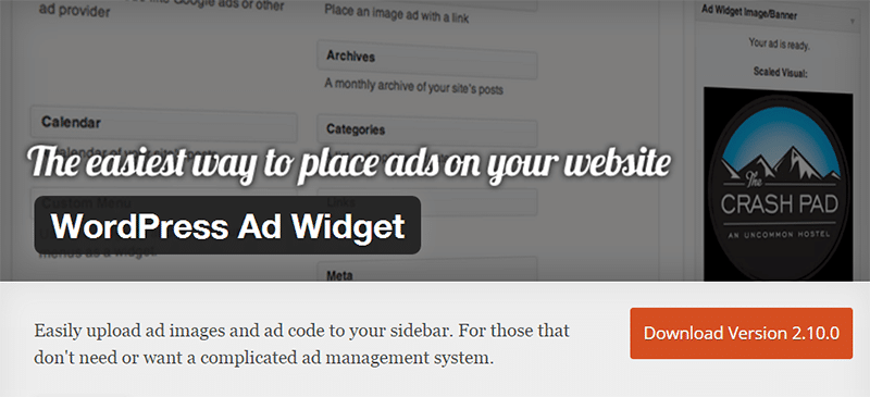 WordPress-Ad-Widget