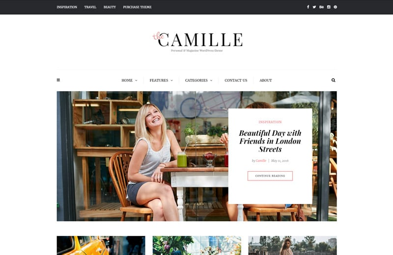 camille-wordpress-blog-theme