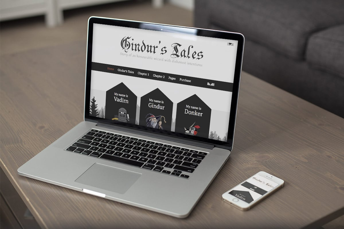 gindur-medieval-wordpress-theme-responsive