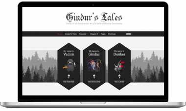 Gindur – Medieval WordPress Theme