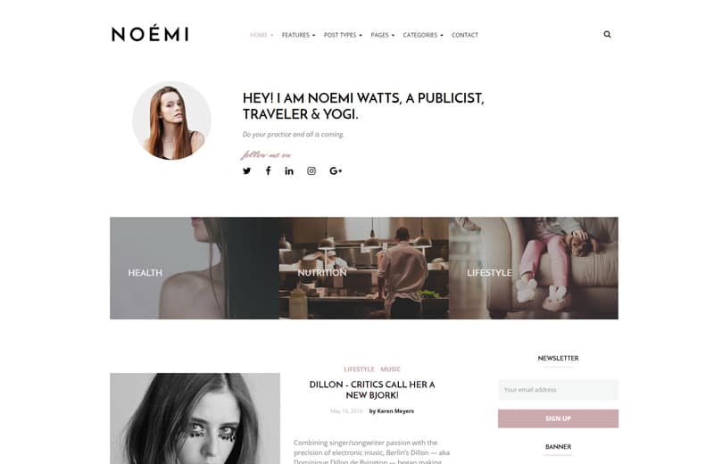 noemi-wordpress-blog-theme