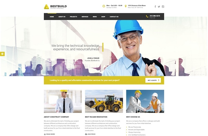 bestbuild-construction-wordpress-theme