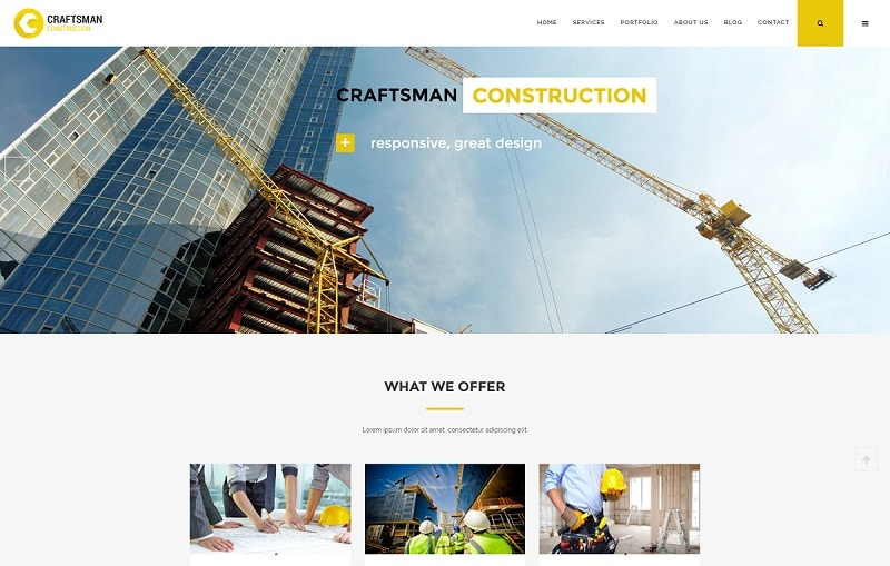 craftsman-construction-wordpress-theme
