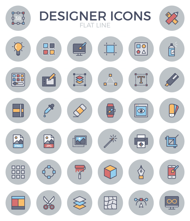 designer-flat-line-icons-preview
