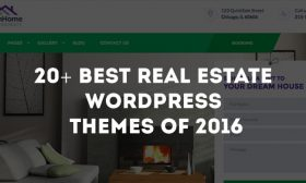 20+ Best Real Estate WordPress Themes of 2019