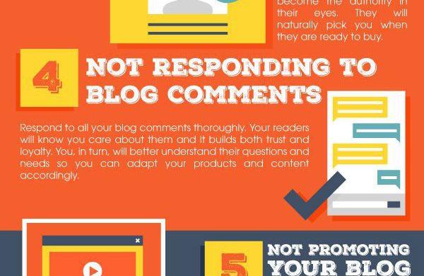 INFOGRAPHIC: 8 Beginner Blogger Mistakes to Avoid