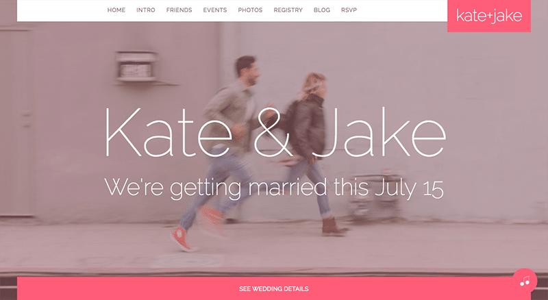 Jake WordPress Wedding theme