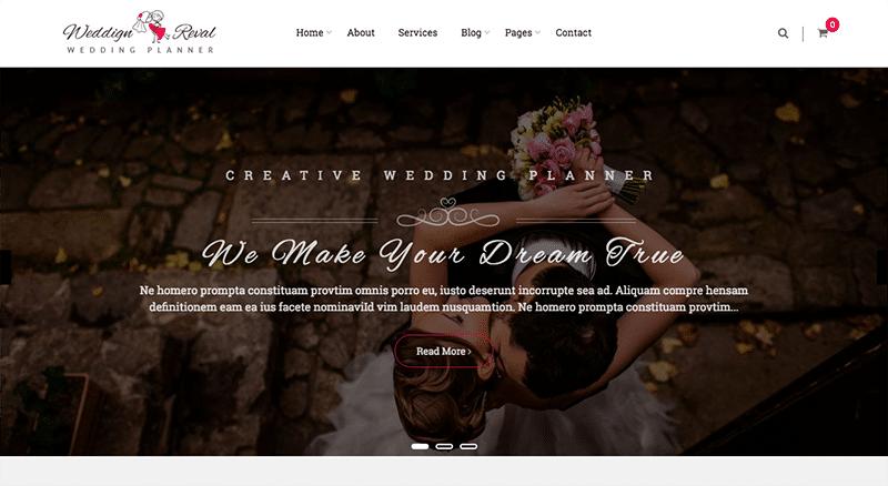 Multi-Page WordPress theme
