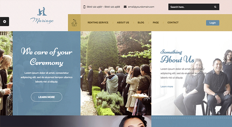 Memorable WordPress Theme