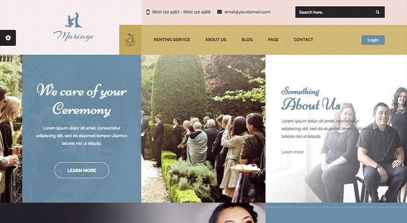 Memorable WordPress Theme