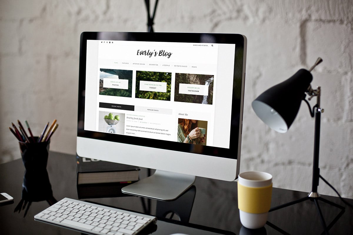 Everly Lite: Free WordPress Blog Theme - PremiumCoding