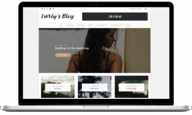 Everly – Hipster WordPress Blog Theme