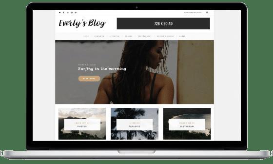 Everly - Hipster WordPress Blog Theme