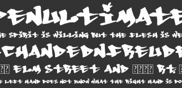 20 Free Graffiti Font Styles For Designers