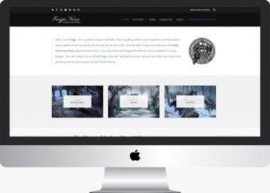 Freyja Lite: Free WordPress Fantasy Blog Theme