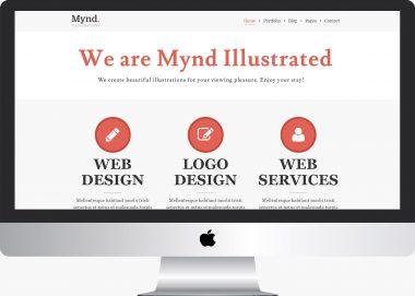 Mynd Lite: A Free Creative Portfolio Theme