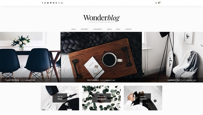 17 Colourful WordPress Themes for Blogs and Magazines 2017