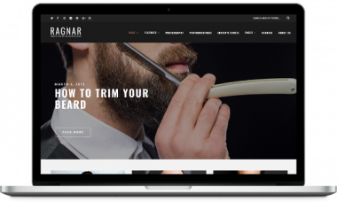 Ragnar – A Bold WordPress Blog Theme