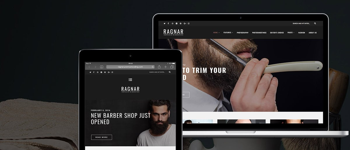 ragnar-wordpress-blog-theme-presentation