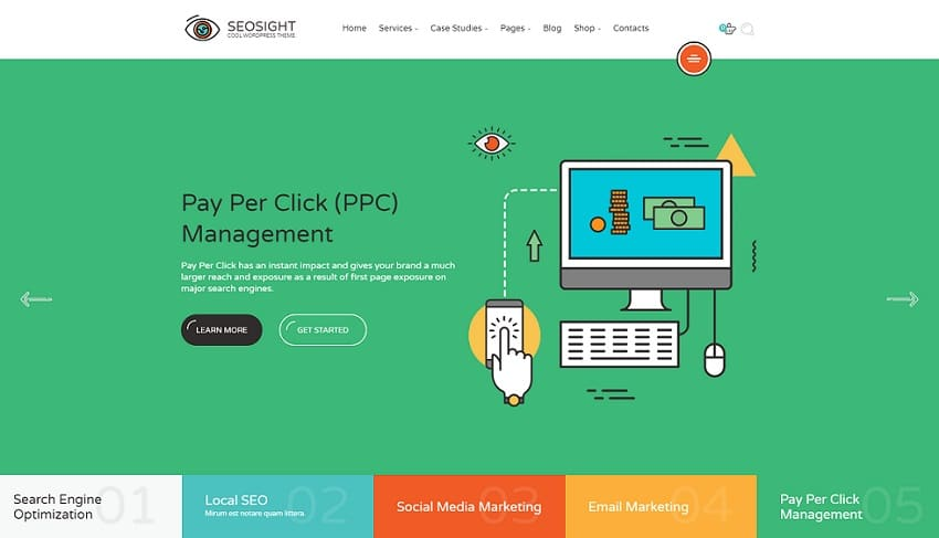 seosight wordpress theme